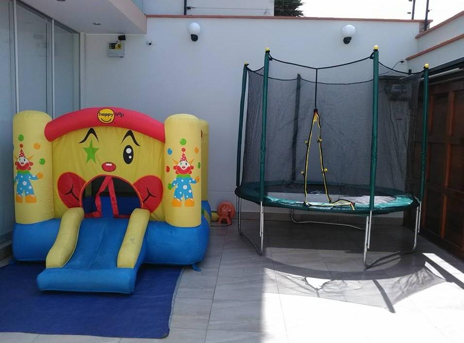 juego inflable cama saltarina
