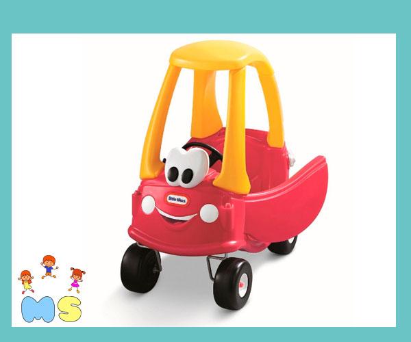 carrito rojo para cumpleaños