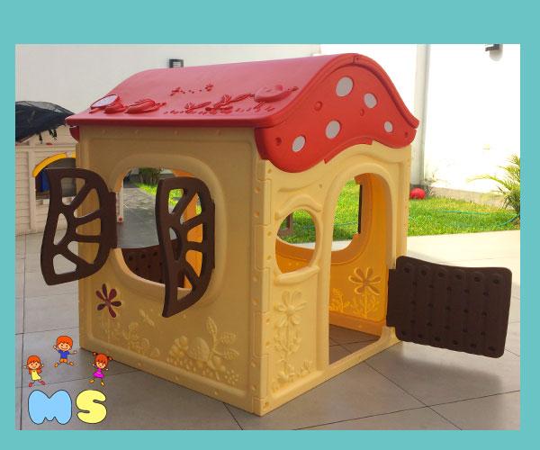 casita para niños en su cumpleaños