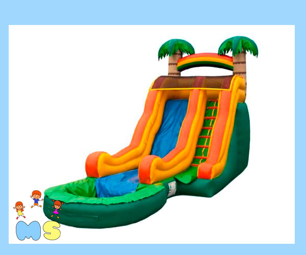Inflable Acuático Ola Tropical