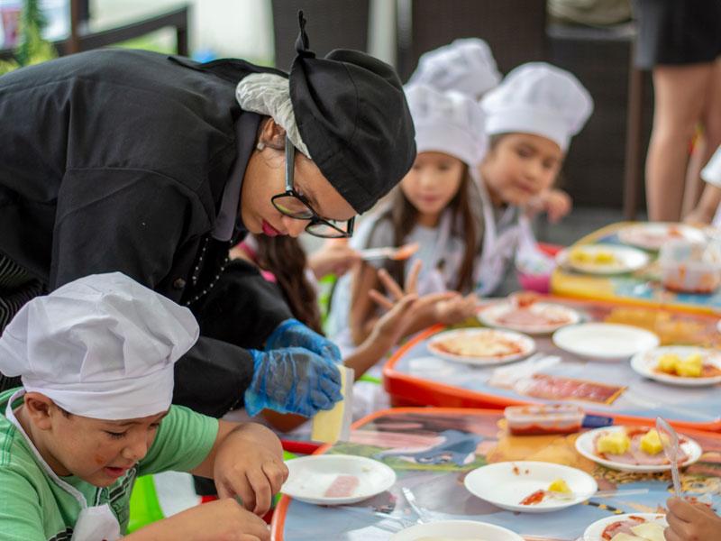 minichef pizzas fiestas infantiles