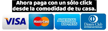 pago con tarjeta de credito inflables